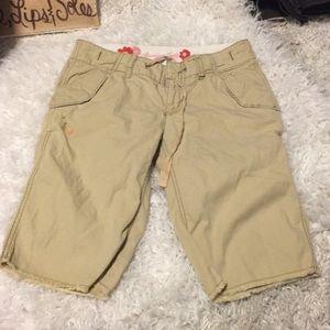 🍀6/$60 American Eagle frayed longer shorts size 0